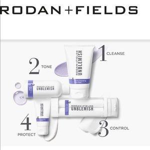 Other - New Rodan + Fields Unblemished 4 product regimen